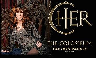 Cher (concert residency) - Image: Cher vegasco
