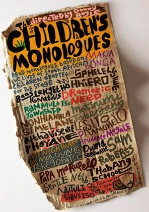The Children's Monologues - Image: Childrens Monologue