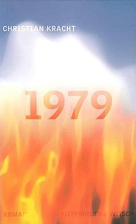 <i>1979</i> (novel) German novel by Christian Kracht