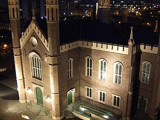 St Malachy's Church, Belfast - The Church at Night