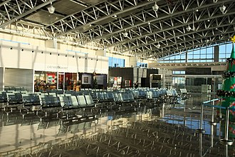 Clark International Airport - Image: Clark International Airport Departure Hall View