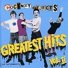 Greatest Hits Vol II Cockney Rejects Album