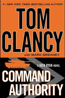 <i>Command Authority</i> novel by Tom Clancy