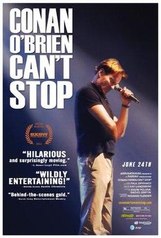 Conan O'Brien Can't Stop - Image: Conan O'Brien Can't Stop