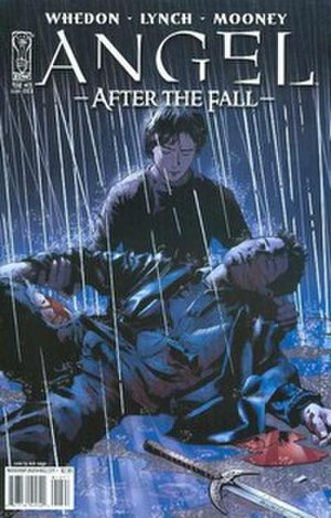 Connor (Angel) - In the 13th issue of the comic book After the Fall, Connor mourns a dying Angel.