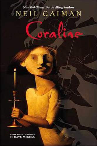 Coraline - Front cover by Dave McKean