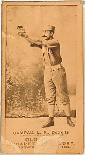 Count Campau Major League Baseball player and manager