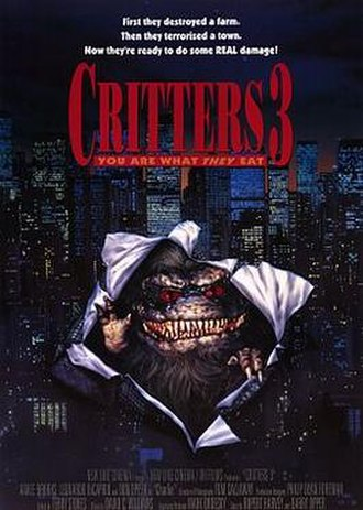 Critters 3 - Promotional poster