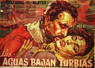 Dark River (1952 film) - Theatrical release poster