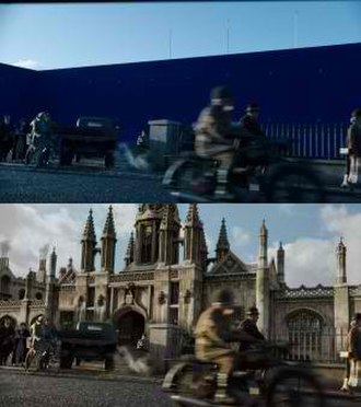 The Chronicles of Narnia: The Voyage of the Dawn Treader - The two stages of animating the King's College Gatehouse in Cambridge University