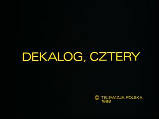 1988 film from cycle directed by Krzysztof Kieślowski