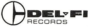 Del-Fi Records - Image: Del Fi Records Logo