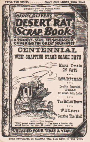 Desert Rat Scrap Book - Desert Rat Scrap Book