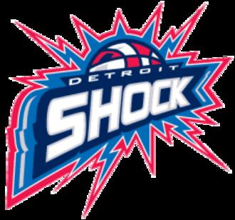 Detroit Shock - Image: Detroit Shock
