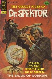 Copertina di Dr. Spektor n. 15