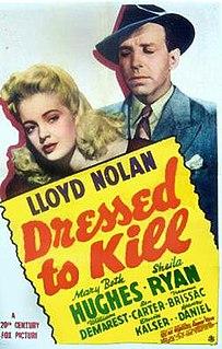 <i>Dressed to Kill</i> (1941 film) 1941 film
