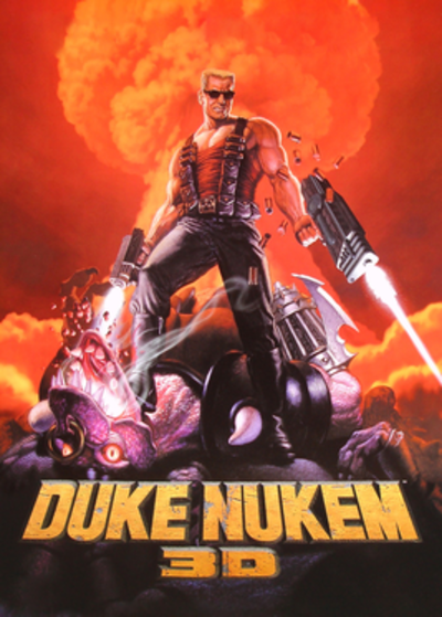 Picture of a game: Duke Nukem 3d