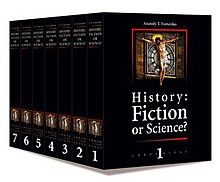History fiction or science chronology volumes 1–7