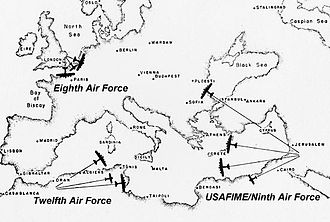 United States Air Forces Central Command - USAAF Air Forces in the European-African-Middle Eastern Theater, 1942