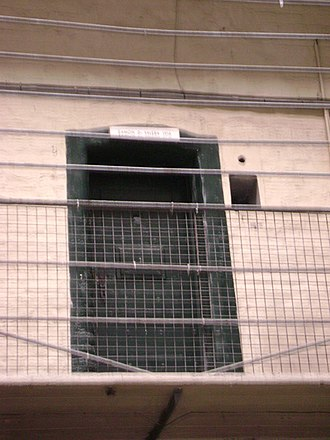 Kilmainham Gaol - Cell of Éamon de Valera.
