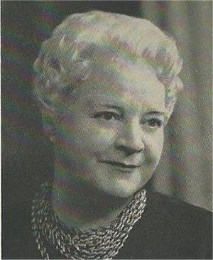 Eleanor Evans - Eleanor Evans in about 1950