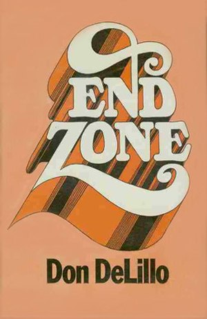 End Zone - Cover of the UK first edition.