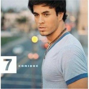 7 (Enrique Iglesias album) - Image: Enrique 7