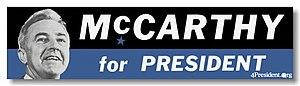 Eugene McCarthy presidential campaign, 1968 - Image: Eugene Mc Carthy 1968