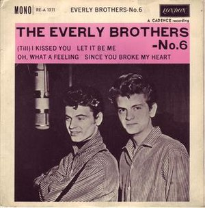 (Till) I Kissed You - Image: Everly Bros Till I Kissed You