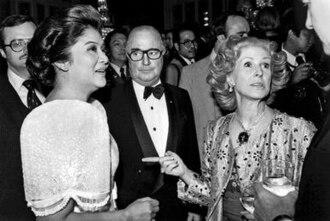 Francis L. Kellogg - (left to right) Imelda Marcos, Francis L. Kellogg, and Marylou Whitney