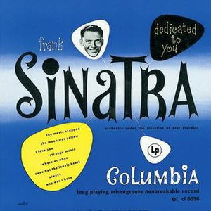 Dedicated to You (Frank Sinatra album) - Image: Frank Sinatra Dedicated to You 1950