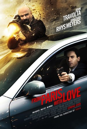 From Paris with Love (film) - Theatrical release poster