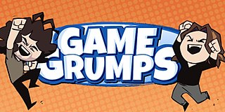 <i>Game Grumps</i> a Lets Play web series hosted by Arin Hanson and Dan Avidan