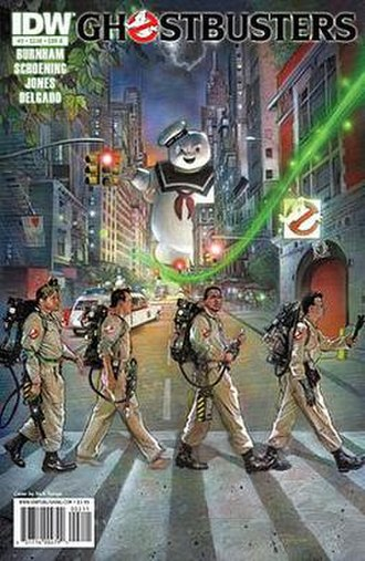 Ghostbusters (comics) - Image: Gbinfested