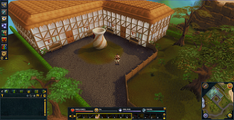 RuneScape - A screenshot of the game interface from RuneScape
