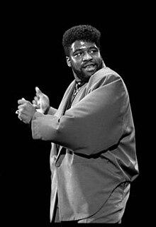 Gerald Levert American R&B singer