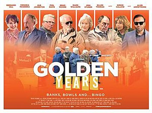 Golden Years (2016 film) - Image: Golden Years poster