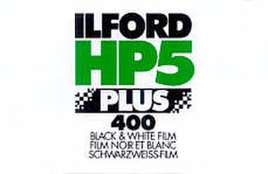 Ilford HP - Image: HP5plus 135 box front