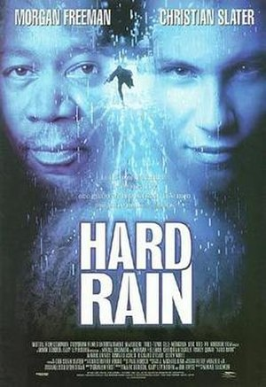 Hard Rain (film) - Theatrical release poster