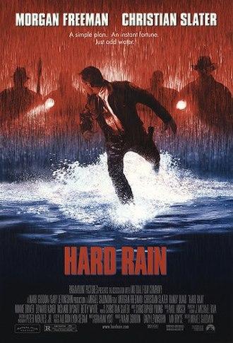 Hard Rain (film) - Theatrical release poster