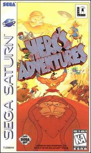 Herc's Adventures - Image: Herc's adventures sega saturn