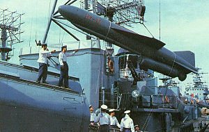 Naval weaponry of the People's Liberation Army Navy - HY-1 Missile