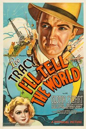 I'll Tell the World - Theatrical release poster