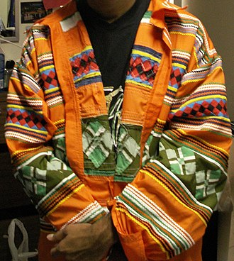 Iron Arrow Honor Society - The distinctive Seminole patchwork jackets worn by Iron Arrow Honor Society members.