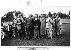 India at the 1948 Summer Olympics - India cyclists 1948-Havewala, Bhoot, Saugar, others
