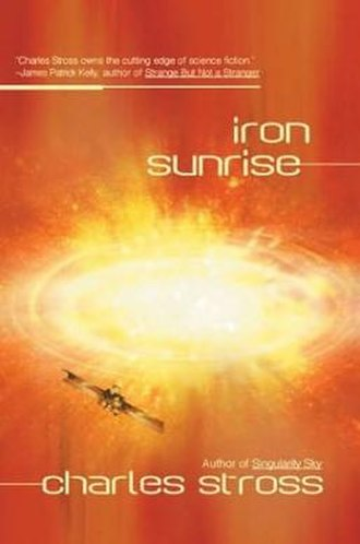 Iron Sunrise - Cover of first edition (hardcover)