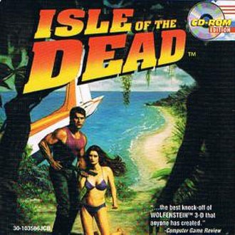 Isle of the Dead (video game) - CD Cover
