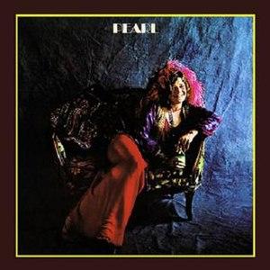 Pearl (album) - Image: Janis Joplin Pearl (album cover)