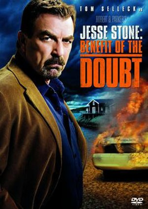 Jesse Stone: Benefit of the Doubt - DVD cover