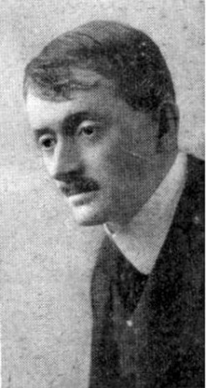 Against the Storm - The poet John Masefield portrayed himself in Against the Storm. (Photograph by E.O. Hoppé)